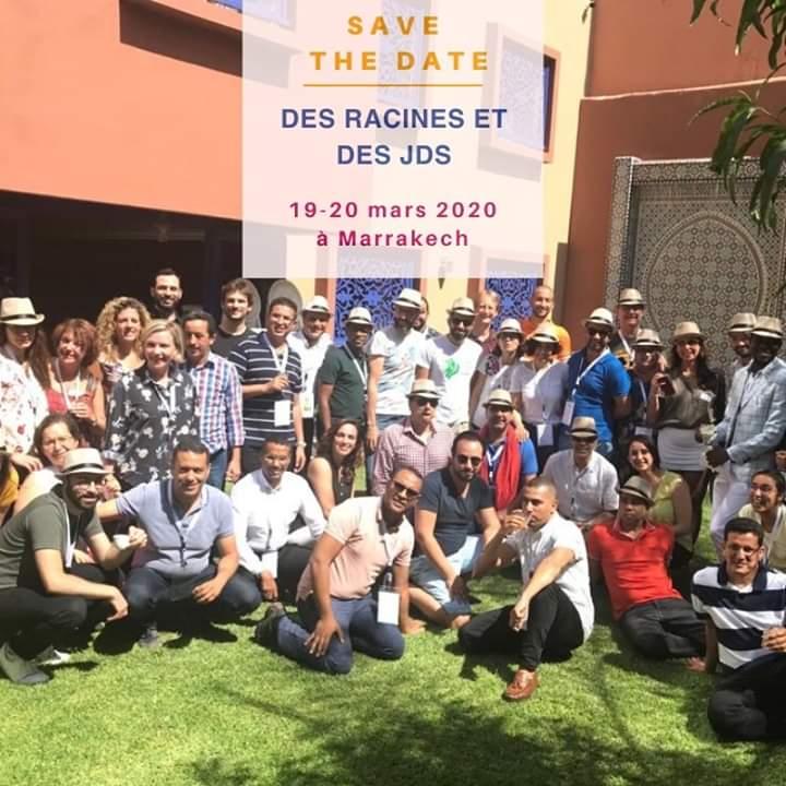 """Le @CJDmaroc organisera le 19 et 20 mars 2020 la deuxième édition de l'événement """"Des racines et des JD"""" à Marrakech."""
